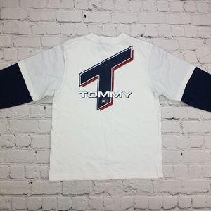 1990's Tommy Hilfiger Long Sleeve Boys T-Shirt